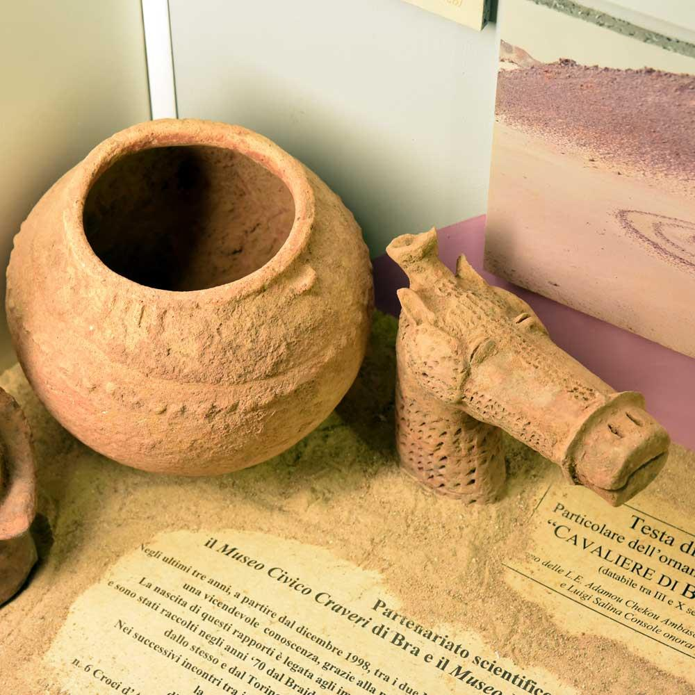 BURA'S ARTIFACTS AND HORSE HEAD