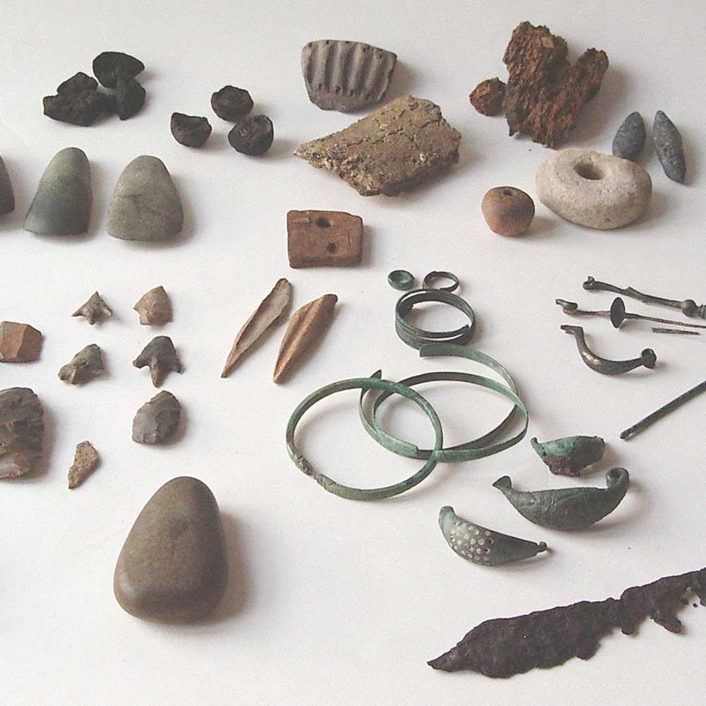 DON GIUSEPPE TORNATORE'S LEGACY. ARCHAEOLOGICAL FINDS
